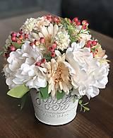 Dekorácie - Kvetinova dekoracia - 11946620_