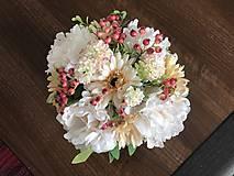 Dekorácie - Kvetinova dekoracia - 11946622_