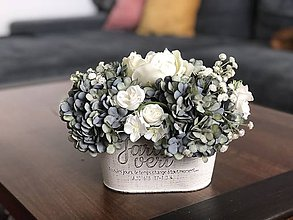 Dekorácie - Dekoracia hortenzia - 11946600_