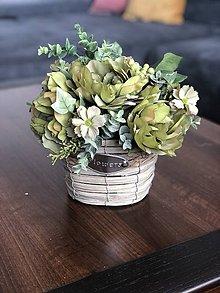 Dekorácie - Kvetinova dekoracia - 11946633_