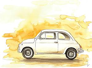 Obrázky - Fiat, ilustrácia - 11946218_