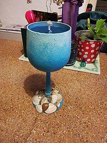 Svietidlá a sviečky - Sviečka v poháriku - 11948577_