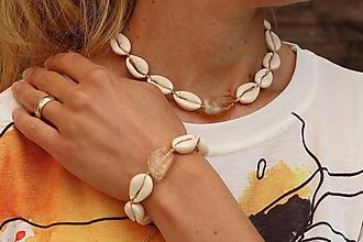 Sady šperkov - Súprava - Choker a náramok - 11949155_