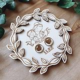 Prstene - Tanierik na obrúčky venček 5 - 11951957_