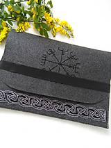 Na notebook - Vikingské ornamenty (obal na notebook) - 11953356_