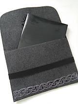 Na notebook - Vikingské ornamenty (obal na notebook) - 11953360_