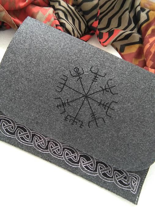 Vikingské ornamenty (obal na notebook)