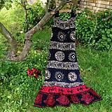 Šaty - Maxi ethno lethno - 11950643_