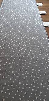 Úžitkový textil - Zástena za posteľ (200 x 50 cm bez kapes) - 11952403_