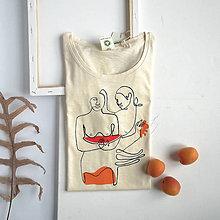Tričká - Dámske tričko Melon - 11949727_