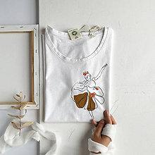 Tričká - Dámske tričko Ballerina - 11949765_
