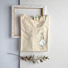 Tričká - Dámske tričko Danseuse - 11949772_