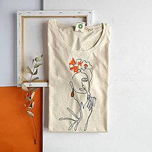 Tričká - Dámske tričko Umelkyňa - 11949905_