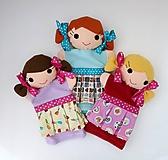 Hračky - Maňuška dievčatko - na objednávku - 11954189_