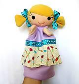 Hračky - Maňuška dievčatko - na objednávku - 11954191_