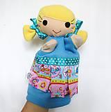 Hračky - Maňuška dievčatko - na objednávku - 11954197_