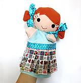 Hračky - Maňuška dievčatko - na objednávku - 11954198_