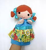 Hračky - Maňuška dievčatko - na objednávku - 11954201_