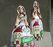 """Socha - """"4 seasons"""" - maľovaný zvonec - 11952665_"""