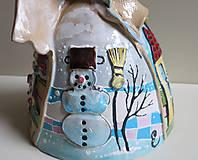 """Socha - """"4 seasons"""" - maľovaný zvonec - 11952692_"""