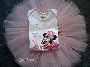 Detské súpravy - Narodeninový set s Minnie Mouse - 11952112_