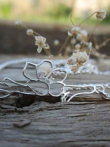 Náhrdelníky - Kvet čerešne - 11954098_