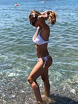 Bielizeň/Plavky - Bikini na mieru WHITE / Na mieru - 11953411_