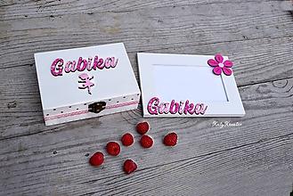 Detské doplnky - fotorámik a krabička na želanie - 11955733_