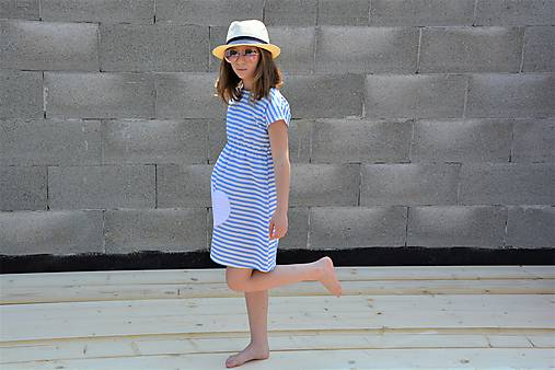 Dievčenské letné šaty Louise, Limitka