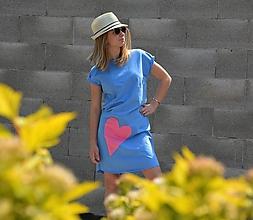 Šaty - Teplákové šaty/tunika Chandal rovného strihu - 11955333_