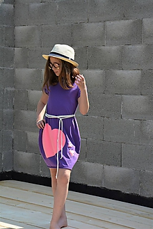 """Detské oblečenie - Úpletové šaty/tunika """"mama a dcéra"""" ♥ LUJZA - 11956280_"""