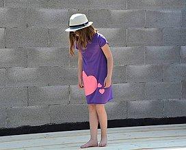 """Detské oblečenie - Úpletové šaty/tunika """"mama a dcéra"""" ♥ LUJZA - 11956298_"""