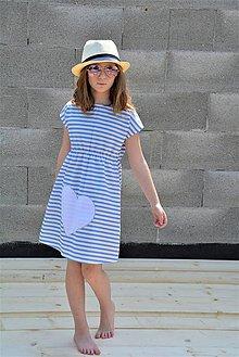 Detské oblečenie - Dievčenské letné šaty Louise, Limitka - 11956575_