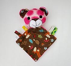Hračky - Mojkáčik macko - Medvedík z Tmavého lesa - 11954312_