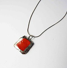 Náhrdelníky - Tana šperky - keramika/platina - 11957571_