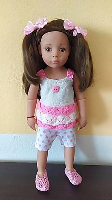 Hračky - Slávka oblečenie pre bábiku. - 11957310_