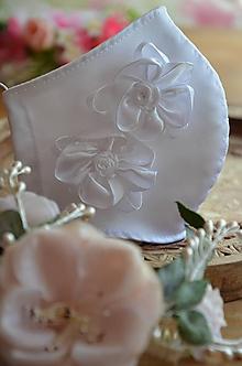 Rúška - Rúško na tvár svadobné - 11957559_