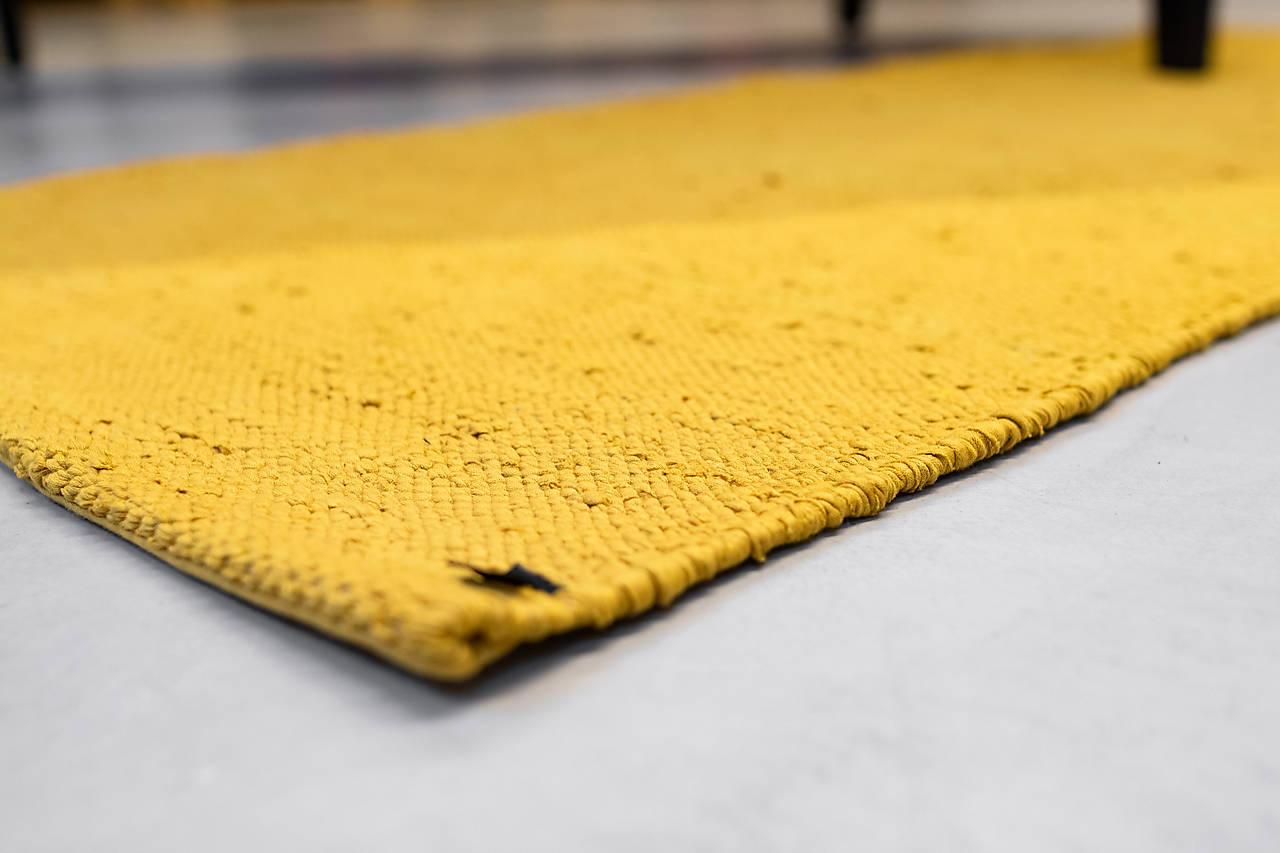 Horčicový husto tkaný koberec, MUSTARD
