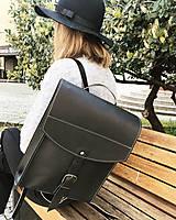 Batohy - Kožený batoh - zelený farbený - 11955375_