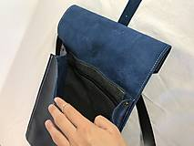 Batohy - Kožený batoh - zelený farbený - 11955381_