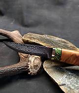 Nože - Damaškový nôž - jelša - 11956084_