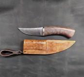Nože - Damaškový nôž - breza - 11956133_