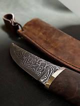 Nože - Damaškový nôž - breza - 11956136_