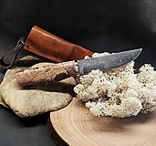 Nože - Damaškový nôž - buk - 11956147_