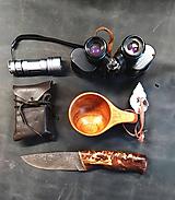 Nože - Damaškový nôž - breza - 11956157_