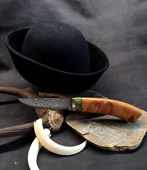Damaškový nôž - jelša