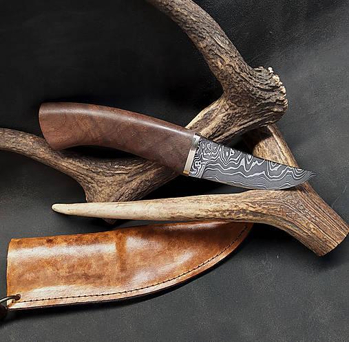 Damaškový nôž - breza