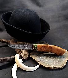 Nože - Damaškový nôž - jelša - 11956082_