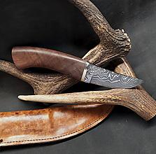 Nože - Damaškový nôž - breza - 11956135_