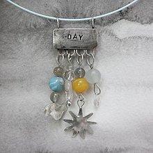 Náhrdelníky - Deň - náhrdelník - 11957686_